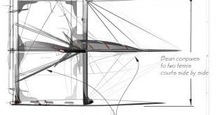 Blueprint for the America's Cup AL5 Catamaran