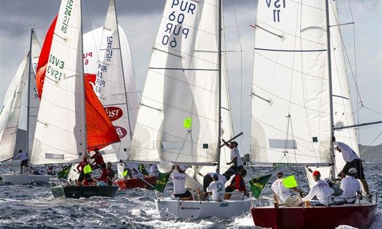 IC24 Racing at St Thomas International Rolex Regatta