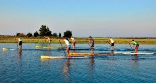 Flatwater SUP at Wrightsville Beach. Photography by Joshua McClure