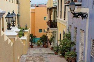 A typical street in Old San Juan. Photo By Caryn B. Davis