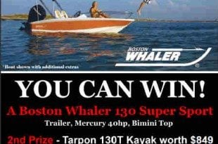 Win a Boston Whaler with Harbour House Marina