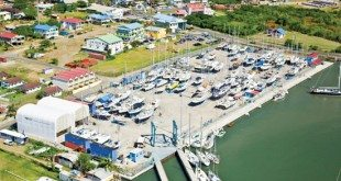 Rodney Bay Marina Boatyard. Courtesy of IGY Marinas