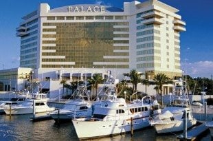 Biloxi Casino Marina Hop - The Palace Hotel is one of several which provide places to park your boat during your stay.