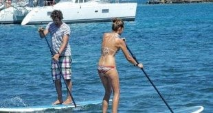 Stand up Paddleboarding is the fastest growing water sport in the world. Photo courtesy of Jeremy Wright