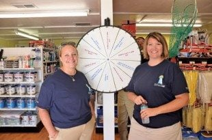 Employees are ready to help with a smile at the new Amelia Island Marine Store. Courtesy of Amelia Island Yacht Basin