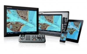 Raymarine displays with Navionics cartography that can be repeated to smartphones and tablets