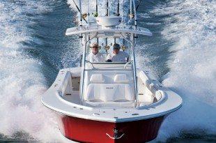 Regulator Marine founders Joan and Owen Maxwell introduced their new Regulator 34 sportfisher - Courtesy of Regulator