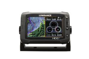 The versatile HDS-7 Gen2 Touch Chartplotter/Fishfinder