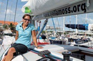Galia Moss at Simpson Bay Marina, St. Maarten. Photo by Robert Luckock