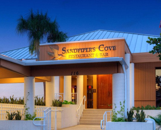 Sandpiper's Cove Restaurant and Bar at the Old Port Cove Marina
