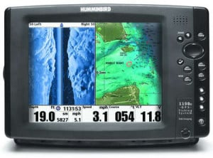 Humminbird's Top of the line 1100 series