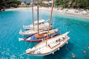 West Indies Regatta where tradition rules. Photo courtesy of West Indies Regatta