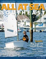 All At Sea - The Southeast's Waterfront Magazine - April 2013