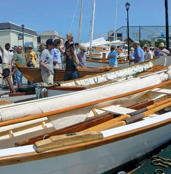 Wooden boats appeal to traditionalists, but require more maintenance. Photos by jo Lucey