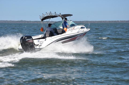 Mercury Marine's Four Stroke in Action
