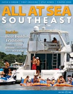 All At Sea - The Southeast's Waterfront Magazine - July 2013