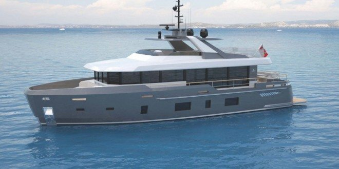 Discovery 88 - A Magic Formula created for a Crossover Design of a Luxurious Yacht and an Expedition Vessel
