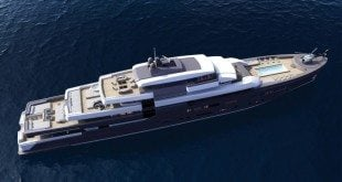 92 SYD Discovery, a M/Y 92 meters long, the final result of a research on new yacht typologies that led to a revolution in the organization of the spaces onboard.