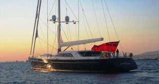 State of Grace, their 53rd sailing yacht and the first yacht in their new 40m Fast Cruising series at the Perini Istanbul-Yildiz shipyard in Turkey.