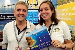 John Simpson and Mikaela Meik of Sailing Rallies. Photo courtesy of Sailing Rallies