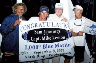 Winners! (From left): Dean 'Rasta' Dunham, Ryan Mertens, Sam Jennings, Capt. Mike Lemon. Photo: Jimmy Loveland