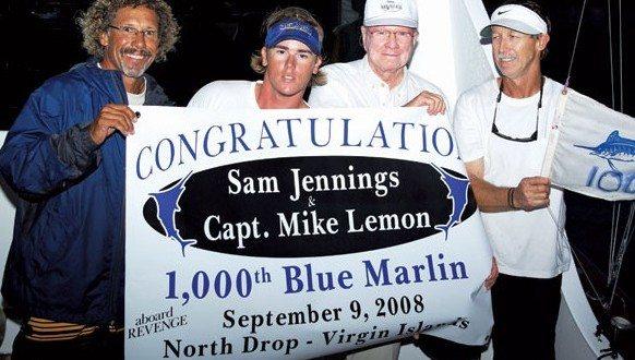Winners! (From left): Dean 'Rasta' Dunham, Ryan Mertens, Sam Jennings, Capt. Mike Lemon. Photo: Jimmy Loveland