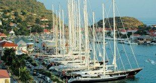 Bucket boats at the dock in Gustavia. Photo: Rosemond Gréaux