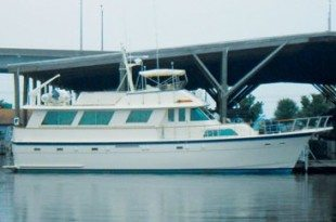 61' Hatteras. Photo Courtesy of Bayport Yachts