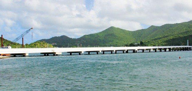 Simpson Bay Lagoon Causeway. Photo: OceanMedia