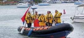 Sint Maarten Sea Rescue in their new foul weather jackets
