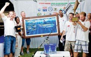 Team Abracadabra - Winners of Budget Marine Spice Island Billfish Tournament. Photo: Kelon Pascall Photography