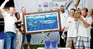 Team Abracadabra - Winners of Budget Marine Spice Island Billfish Tournament. Photo: Kelon Pascall Photography