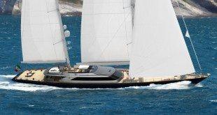 60m Perini Navi ketch, hull number C.2232