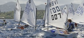 Junior sailors from several countries sail in the IOR. Credit: Dean Barnes