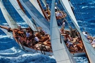 Classics try their hand at match racing! © Onne Van Der Wal/Panerai