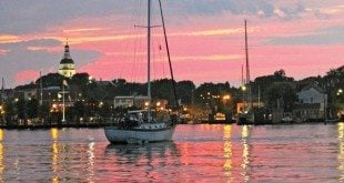 Sunset over Annapolis. Photo Credit: Terry Boram