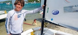 BVI's Duff Wins International Optimist Regatta