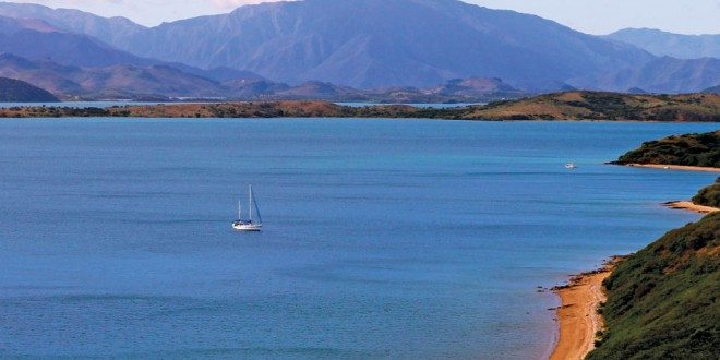 Solitude – Ganesh anchored in St Vincent Bay, New Caledonia