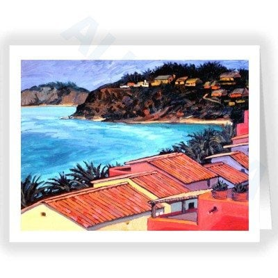 Note Card - Coastline