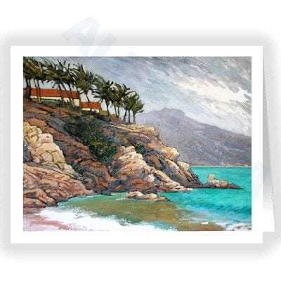 Note Card - Mexican Coast