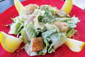 No Fish Harmed in the Making of This Vegan Caesar Salad
