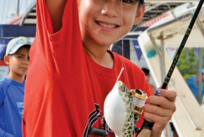VIGFC's Kid's Fishing Tournament Huge Success
