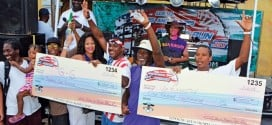 24 Raced in Inaugural USVI Stars & Stripes Poker Run