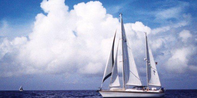 Conover's Morgan 51, Growltiger, in Bermuda