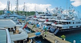 Antigua Charter Yacht Show. Photo: Ted Martin
