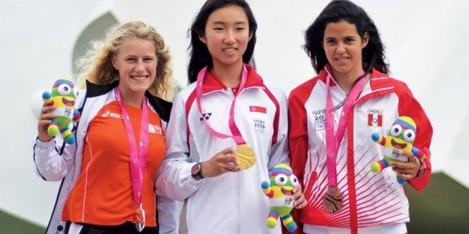 Silver for Odile van Aanholt at Youth Olympic Games