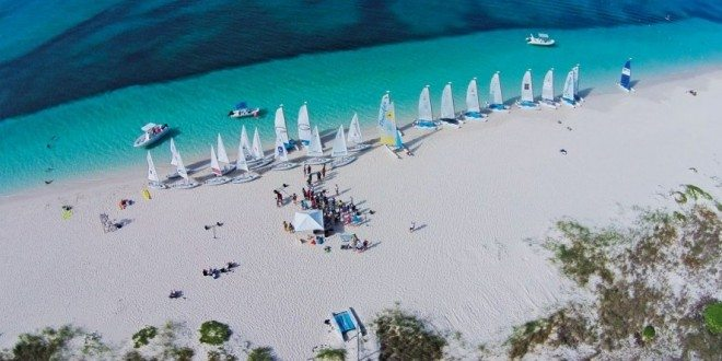 Many shades of blue! Bart's Bash, Turks and Caicos Islands. Photo: John Lawson