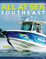 All At Sea - The Southeast's Waterfront Magazine - October 2014