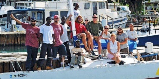 The team at St. Croix Marine