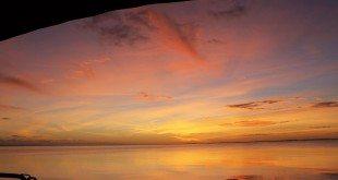 Sunset December 24, 2013 from Sandy Key, Florida